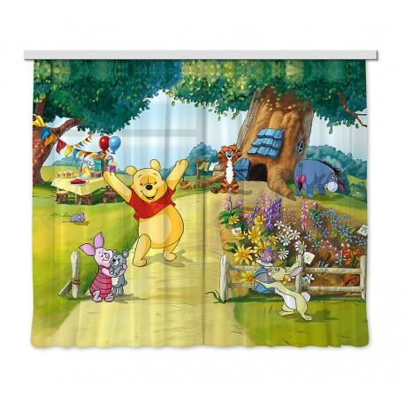 Perdele copii Winnie the Pooh