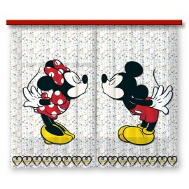 Perdele copii Mickey si Minnie Mouse