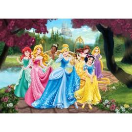 Fototapet Printese Disney in gradina
