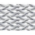 Fototapet cu efect 3D Spirale albe