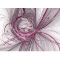 Fototapet abstract Explozie de roz
