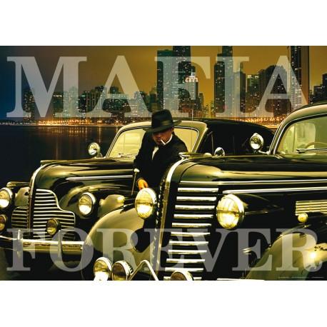 Fototapet bar Mafia Forever
