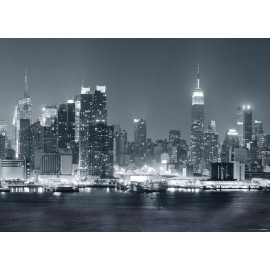 Fototapet alb-negru New York