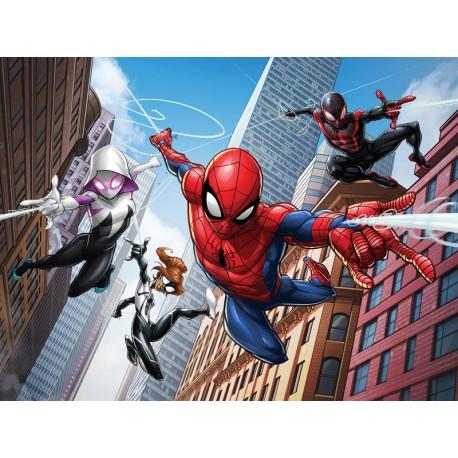 Fototapet Spiderman and friends