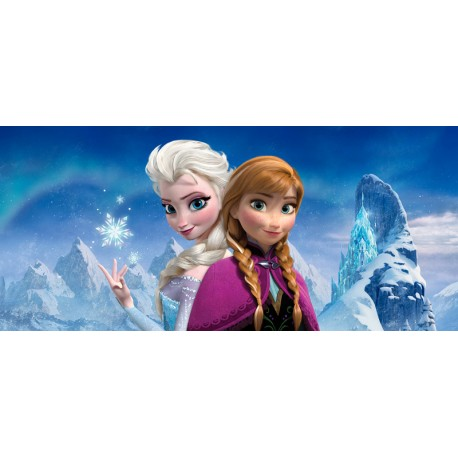 Fototapet Frozen - Anna si Craiasa Zapezii