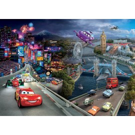 Fototapet Cars World 160x115 cm