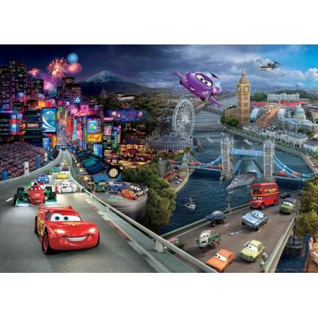 Fototapet Cars World 160x115 cm