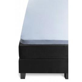 Cearceaf topper Jersey bleu 80x200 cm