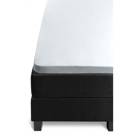 Cearceaf topper Jersey alb 80x200 cm