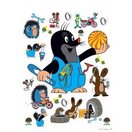 Stickere Cartita si prietenii pentru perete camera copii
