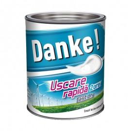 Vopsea lucioasa Danke EXTERIOR cu uscare rapida 0.75L