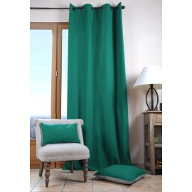 Draperie Duo verde smarald