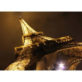 Fototapet Turn Eiffel noaptea