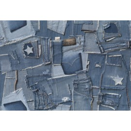 Fototapet modern Jeans