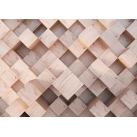 Fototapet design - Grinzi lemn