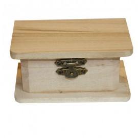 Cutie lemn decorativa dreptunghiulara