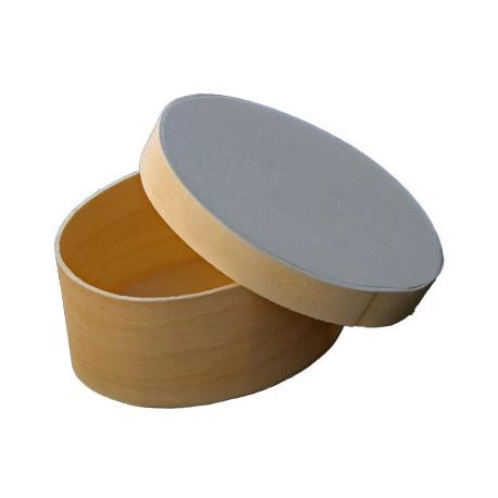 Cutiuta lemn ovala