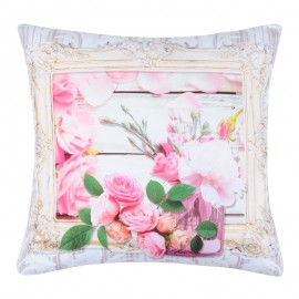 Perna deco cu flori roz