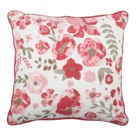 Perna deco cu flori rosii