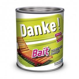 Bait colorat pentru lemn Danke Nuc 0.75L - Bait lemn