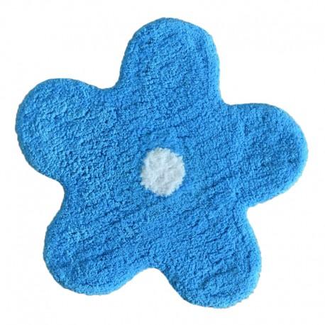 Covoras de baie Alegra albastru