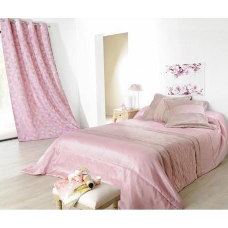 Cuverturi de pat matlasate Milano roz - bej