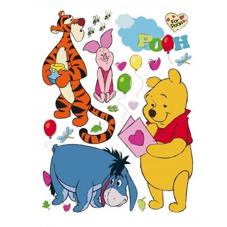 Stickere perete Winnie the Pooh 1 pentru camere copii