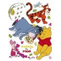 Stickere Winnie the Pooh 2 pentru perete camera copii