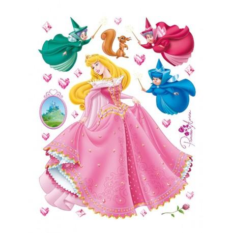 Stickere perete Walt Disney - Printesa Aurora