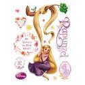 Sticker Rapunzel 3 pentru perete camera copii