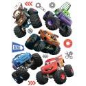 Stickere perete Cars Monster-Trucks
