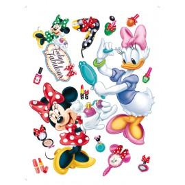 Stickere perete Minnie si Daisy 3 pentru camera copii
