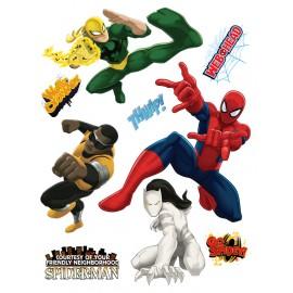 Stickere perete Spiderman si prietenii