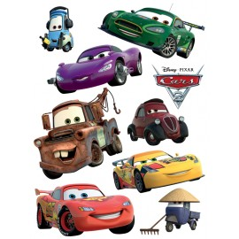 Stickere perete Cars - Fulger McQueen si prietenii