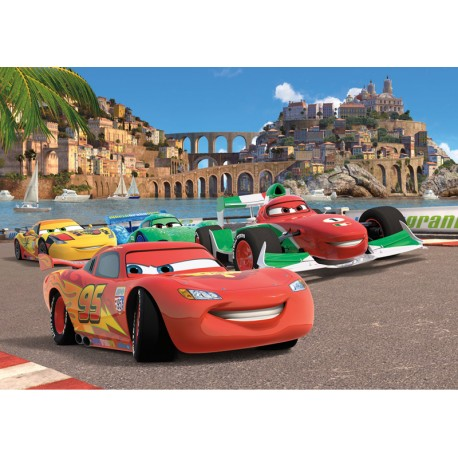Fototapet Disney pentru camere copii - Cars 5