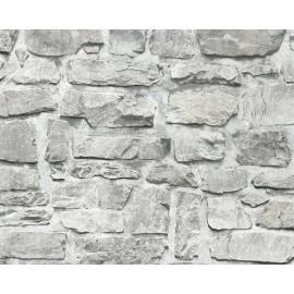 Tapet zid granit gri