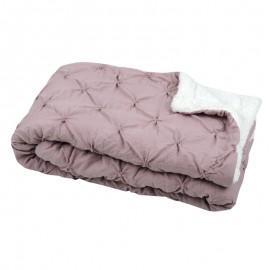 Cuvertura matlasata Blush roz prafuit