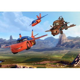 Fototapet Disney pentru camere copii - Cars 2