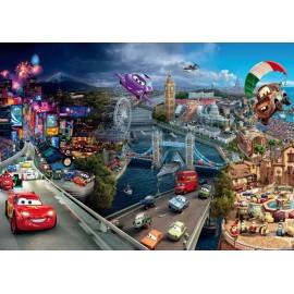 Fototapet Disney pentru camere copii - Cars 3