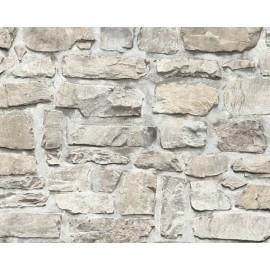 Tapet zid granit gri-bej