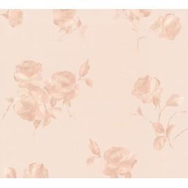 Tapet cu trandafiri Shabby Chic