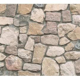 Tapet living Perete granit
