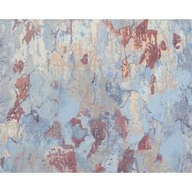 Tapet perete vintage bleu
