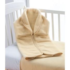 Paturica sac de dormit bebe bej