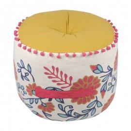 Perna rotunda pouf Anya