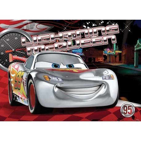 Fototapet Cars Fulger McQueen Neon