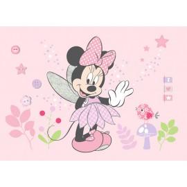 Fototapet Minnie Mouse roz