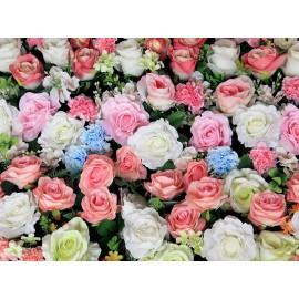 Fototapet Trandafiri multicolori