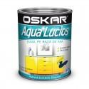 Vopsea Oskar Aqua Lucios Albastru marin 600ml