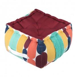 Perna podea pouf multicolora Stripes